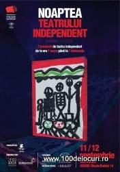 noaptea teatrului independent