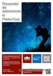 astronomie la palatul sutu