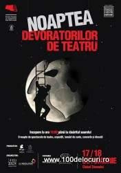 noaptea devoratorilor de teatru