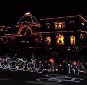 pe bicicleta in noaptea muzeelor