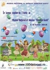 lumea copiilor la muzeul satului