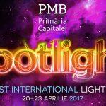 Spotlight – Festivalul Luminii revine in Bucuresti pentru a treia oara