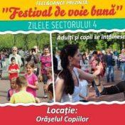 Festival de voie bună şi Zilele sectorului 4