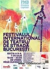 Festivalul Internaţional de Teatru de Stradă Bucureşti