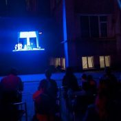 Cinema în aer liber la OCC