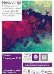 """Spectacolul """"Necuviință"""" la Casa Filipescu-Cesianu"""